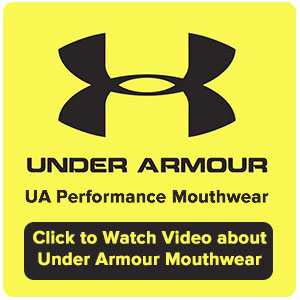 Underarmour Mouthguards - Click on the logo and watch our YouTube video on Under Armour Mouthwear.